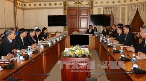 Ho-Chi-Minh-Stadt und Japans Provinz Nagano verstärken Wirtschaftszusammenarbeit - ảnh 1