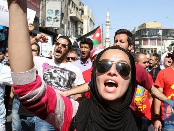 Protest in Jordanien gegen Friedensvereinbarung mit Israel - ảnh 1