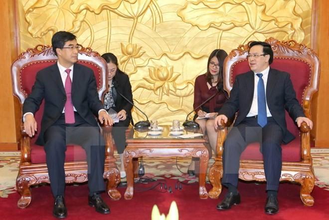 Leiter des Außenkomitees der KPV empfängt Delegation des chinesischen Jugendverbands - ảnh 1