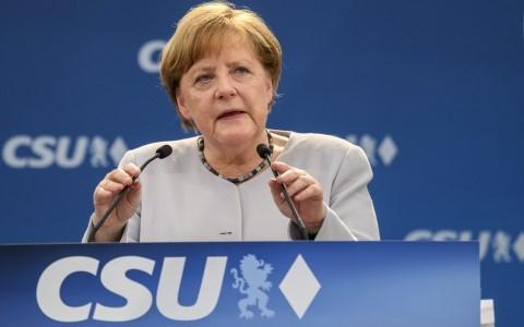 Bundestagswahl: Angela Merkel kommt näher an eine 4. Amtszeit in Folge heran - ảnh 1