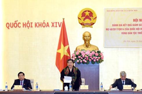 Maßnahmen für die Entwicklung der entlegenen Regionen einheitlich und effektiv umsetzen - ảnh 1