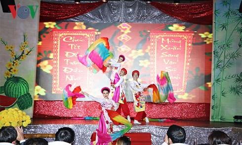 Veranstaltungen zum traditionellen Tet-Fest der Auslandsvietnamesen - ảnh 1