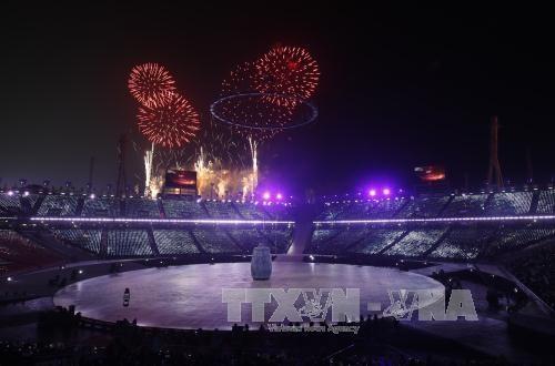 Eröffnungsfeier der Olympischen Winterspiele PyeongChang 2018 - ảnh 1