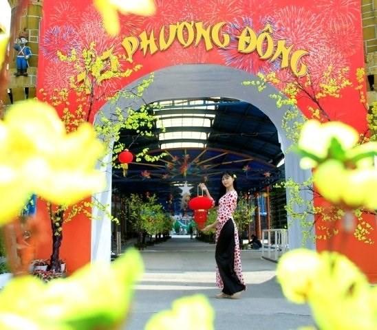 """Das einzigartig Programm """"Tet-Fest des Ostens"""" im Park Ho Tay  - ảnh 1"""