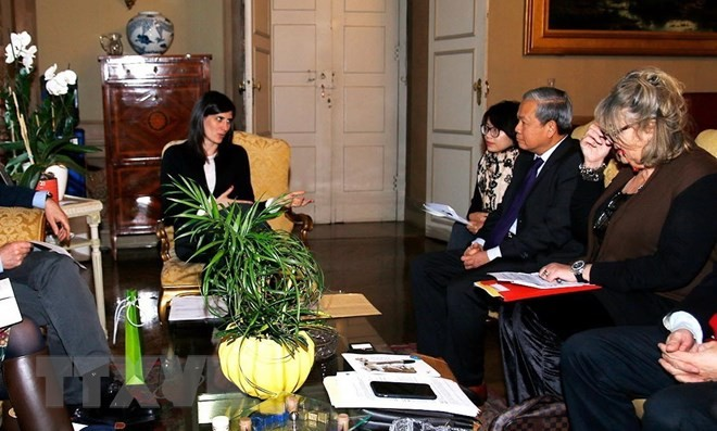 Verstärkung der Zusammenarbeit zwischen Vietnam und Italien - ảnh 1