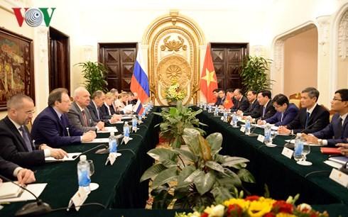 Festigung der umfassenden strategischen Partnerschaft zwischen Vietnam und Russland - ảnh 1