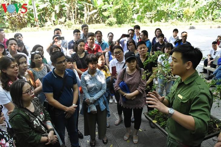 Besuche an den historischen Orten in Truong Son - ảnh 3