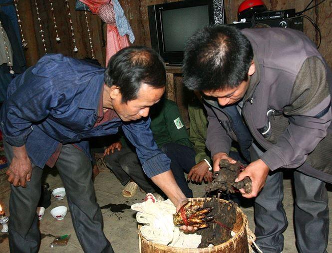 Sitten und Bräuche bei der Hochzeit der Mang in Lai Chau - ảnh 1