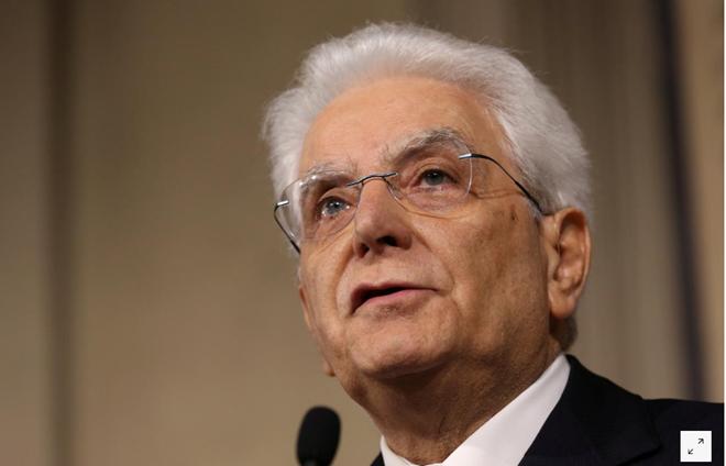 Italiens Präsident bestellt den Mann ein, der eine Technokratenregierung bilden kann - ảnh 1