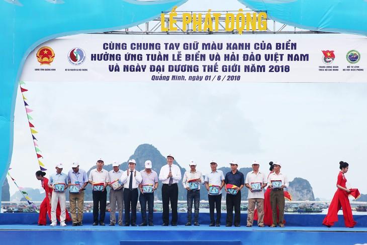 Woche des Meeres und der Inseln Vietnams: Gemeinsam das Blaue des Meeres zu schützen - ảnh 1