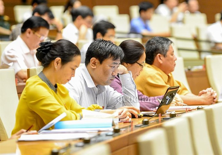 Parlament diskutiert den Gesetzesentwurf über Vermessung und Landkarte - ảnh 1
