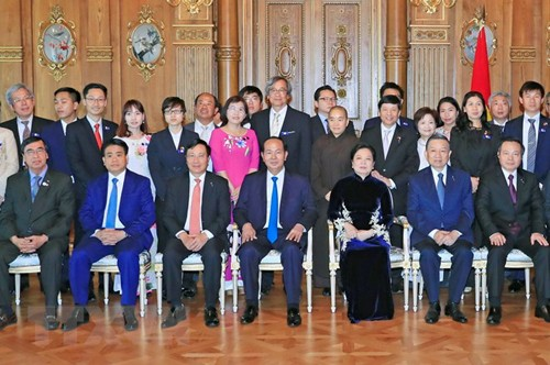Staatspräsident Tran Dai Quang beendet Besuch in Japan - ảnh 1