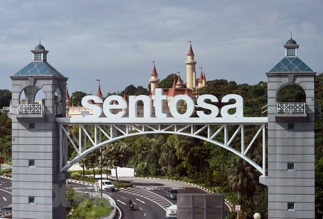 Urlaubsinsel Sentosa in Singapur kann Ort des USA-Nordkorea-Gipfels sein - ảnh 1