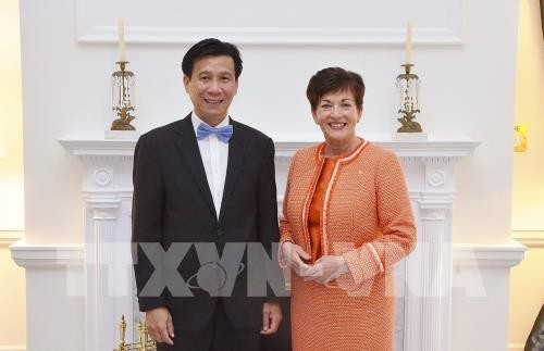 Neuseelands Generalgouveneurin trifft den vietnamesischen Botschafter - ảnh 1