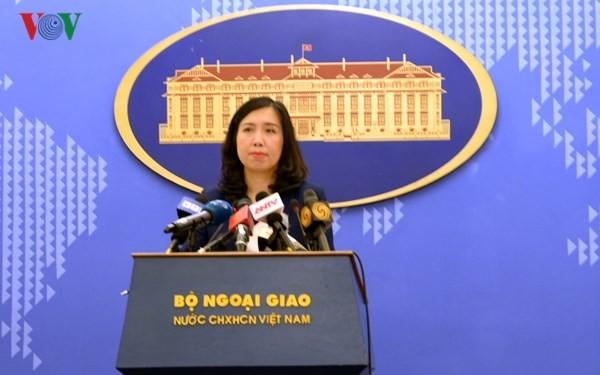 Vietnam protestiert gegen die Militäraktivitäten Chinas auf der Insel Phu Lam - ảnh 1