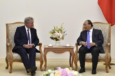 Premierminister Nguyen Xuan Phuc empfängt Außenminister Luxemburgs - ảnh 1