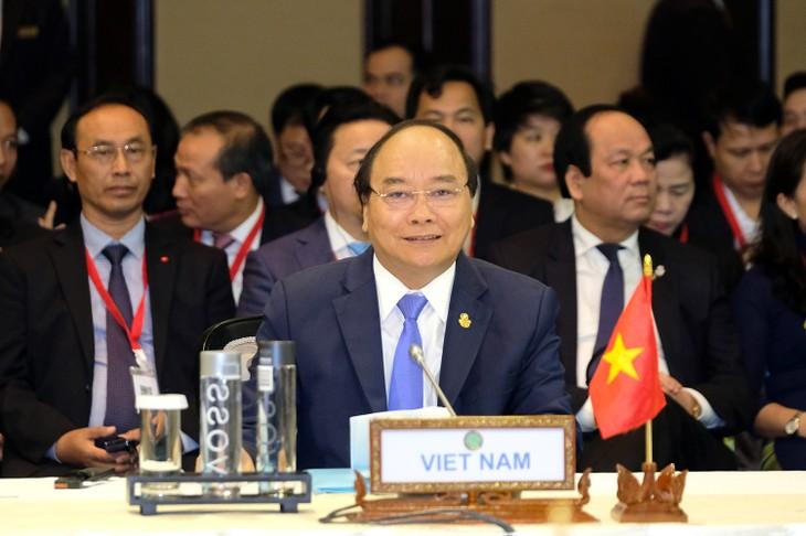 Premierminister Nguyen Xuan Phuc nimmt am CLMV-Gipfeltreffen teil - ảnh 1