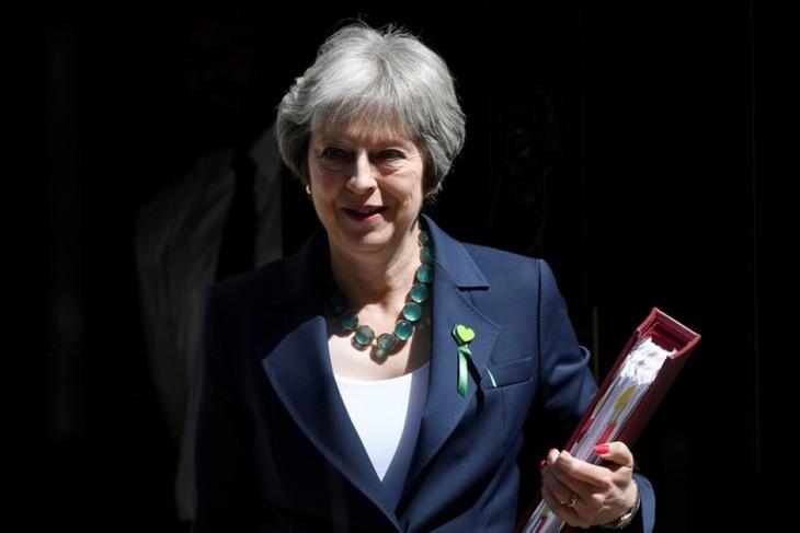 Brexit-Frage: Britische Premierministerin verpflichtet sich zu erhöhten Gesundheitsausgaben - ảnh 1