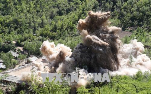 US-Präsident: Nordkorea hat mit der Denuklearisierung begonnen - ảnh 1