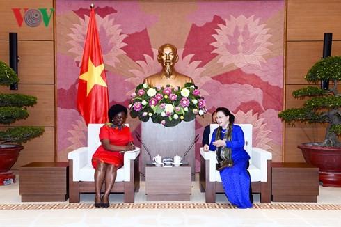 Parlamentspräsidentin empfängt Vize-Präsidentin für Asien-Pazifik der Weltbank - ảnh 1