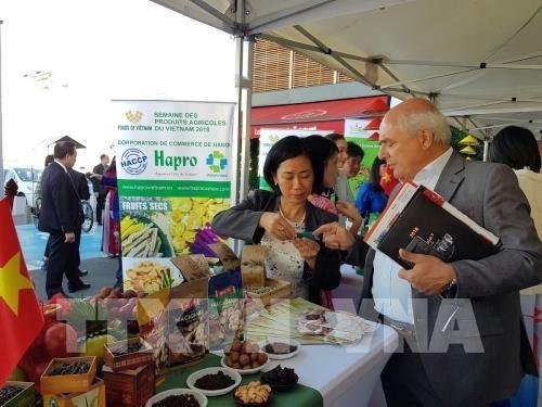 Die vietnamesischen landwirtschaftlichen Produkte versuchen, den französischen Markt zu erobern - ảnh 1