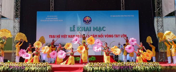 Eröffnung des Sommerlagers Vietnam 2018 - ảnh 1