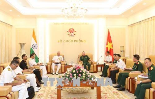 Vietnam und Indien verstärken Marine-Zusammenarbeit - ảnh 1