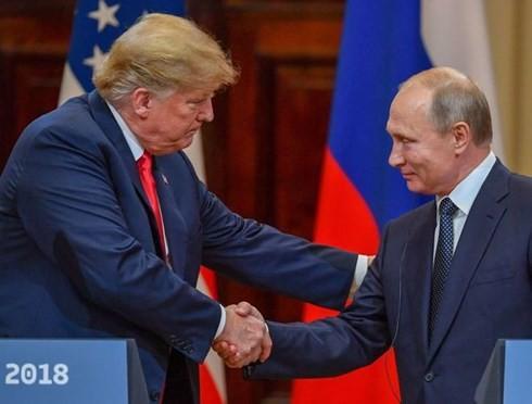 US-Präsident Donald Trump verzögert Treffen mit Russlands Präsident Wladimir Putin - ảnh 1