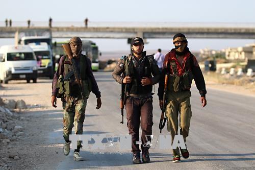 Rebellengruppen bilden neues Bündnis im syrischen Idlib - ảnh 1