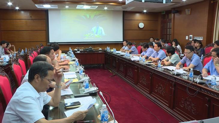 Online-Gespräch über den Aufbau der hervorragenden öffentlichen Behörden - ảnh 1