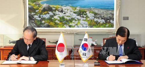 Südkorea verlängert Vereinbarung über Austausch von militärischen Informationen mit Japan - ảnh 1