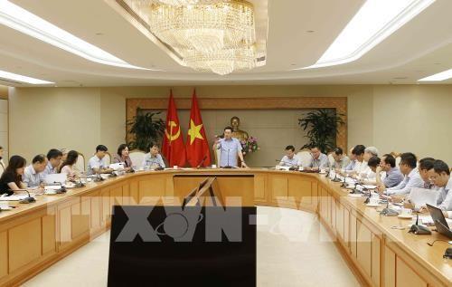 Vize-Premierminister Vuong Dinh Hue leitet Bewertungskonferenz über Preis- und Inflationskontrolle - ảnh 1
