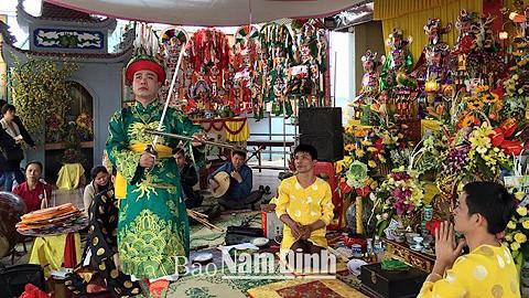 Nam Dinh entwickelt den Chau Van-Gesang - ảnh 1