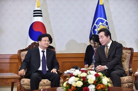 Vietnam legt immer großen Wert auf die Beziehung zu Südkorea - ảnh 1