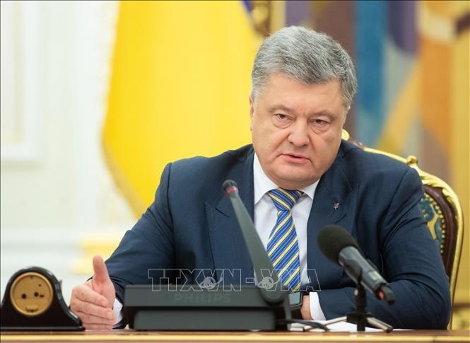 Präsident der Ukraine legt Parlament Entwurf zum Ende des Freundschaftsabkommen mit Russland vor - ảnh 1