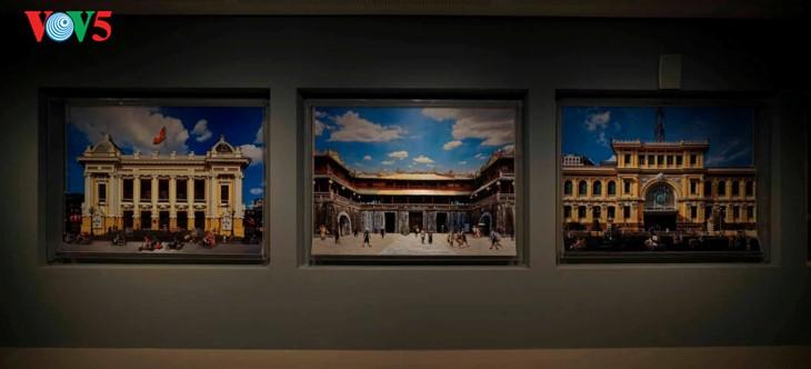 Der einzigartige zeitgenössische Kunstraum im Parlamentsgebäude - ảnh 15