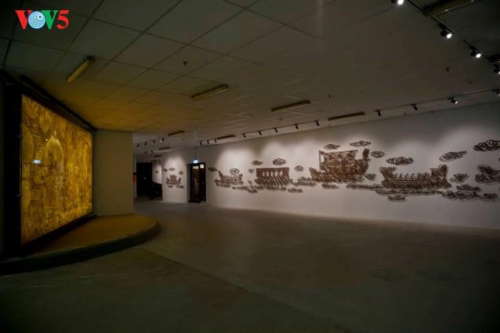 Der einzigartige zeitgenössische Kunstraum im Parlamentsgebäude - ảnh 1