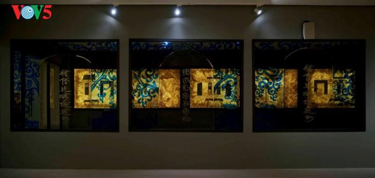 Der einzigartige zeitgenössische Kunstraum im Parlamentsgebäude - ảnh 20