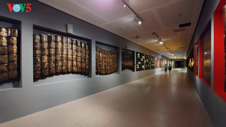 Der einzigartige zeitgenössische Kunstraum im Parlamentsgebäude - ảnh 3