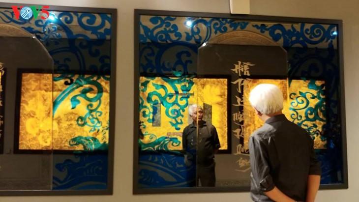 Der einzigartige zeitgenössische Kunstraum im Parlamentsgebäude - ảnh 6