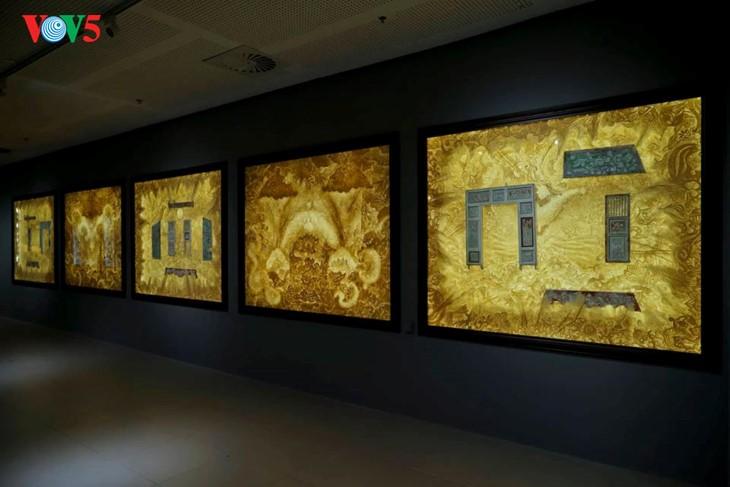 Der einzigartige zeitgenössische Kunstraum im Parlamentsgebäude - ảnh 8