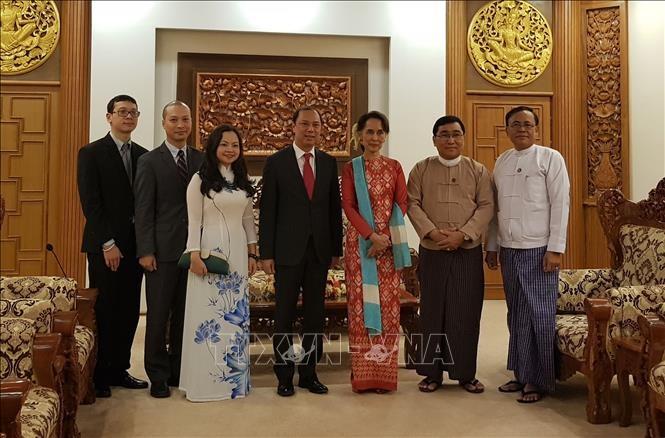 Vize-Außenminister Nguyen Quoc Dung besucht Myanmar - ảnh 1