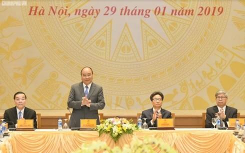 Premierminister Nguyen Xuan Phuc zur Entfaltung der Rolle der vietnamesischen Intellektuellen - ảnh 1