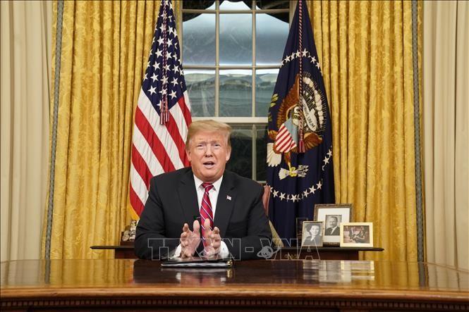 US-Präsident ist optimistisch über die Unterzeichnung der Vereinbarungen mit China und Nordkorea - ảnh 1