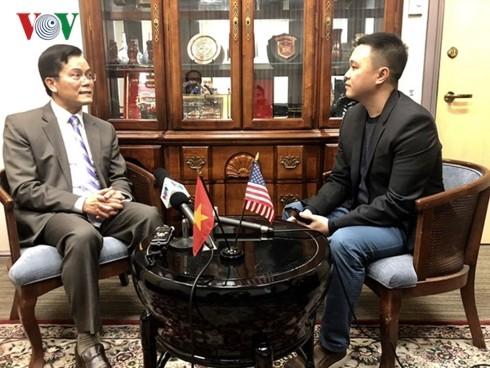 """Vietnamesischer Botschafter in den USA: Vietnam ist """"der besondere Katalysator"""" für Nordkorea-USA-Verhandlungen - ảnh 1"""