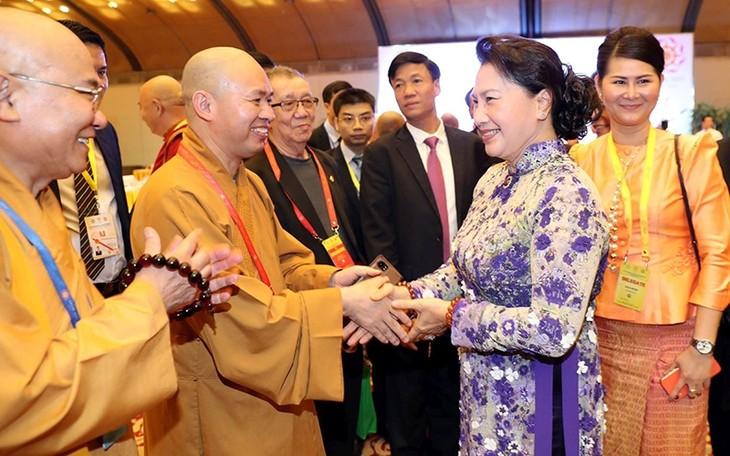 Vietnam schätzt die guten moralischen Werte der Religionen, darunter des Buddhismus - ảnh 1
