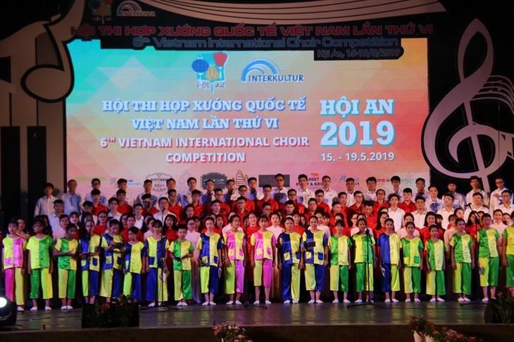 Fast 1000 Künstler nehmen am 6. internationalen Chorwettbewerb Vietnam teil - ảnh 1