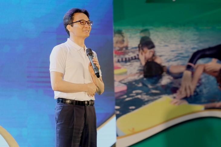 Start der Bewegung Schwimmkurse gegen Ertrinken in der ganzen Gesellschaft - ảnh 1