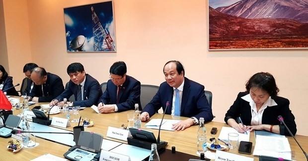 Vietnam und Russland fördern Zusammenarbeit beim Aufbau der E-Regierung - ảnh 1