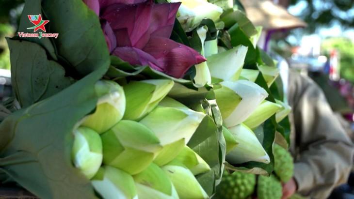 Die Schönheit der Lotusblumen im Sommer in Vietnam genießen - ảnh 3
